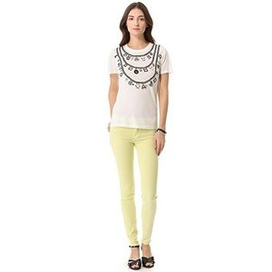 Marc by Marc Jacobs Lemon Stick Fit Skinny Jeans